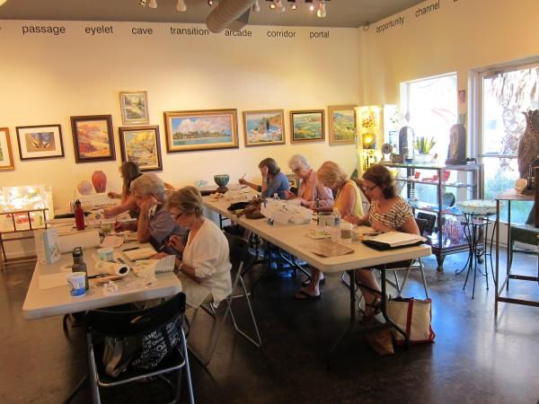 Watercolor Journaling Class